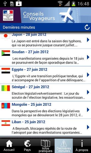 Les conseils avisés de l'Etat français