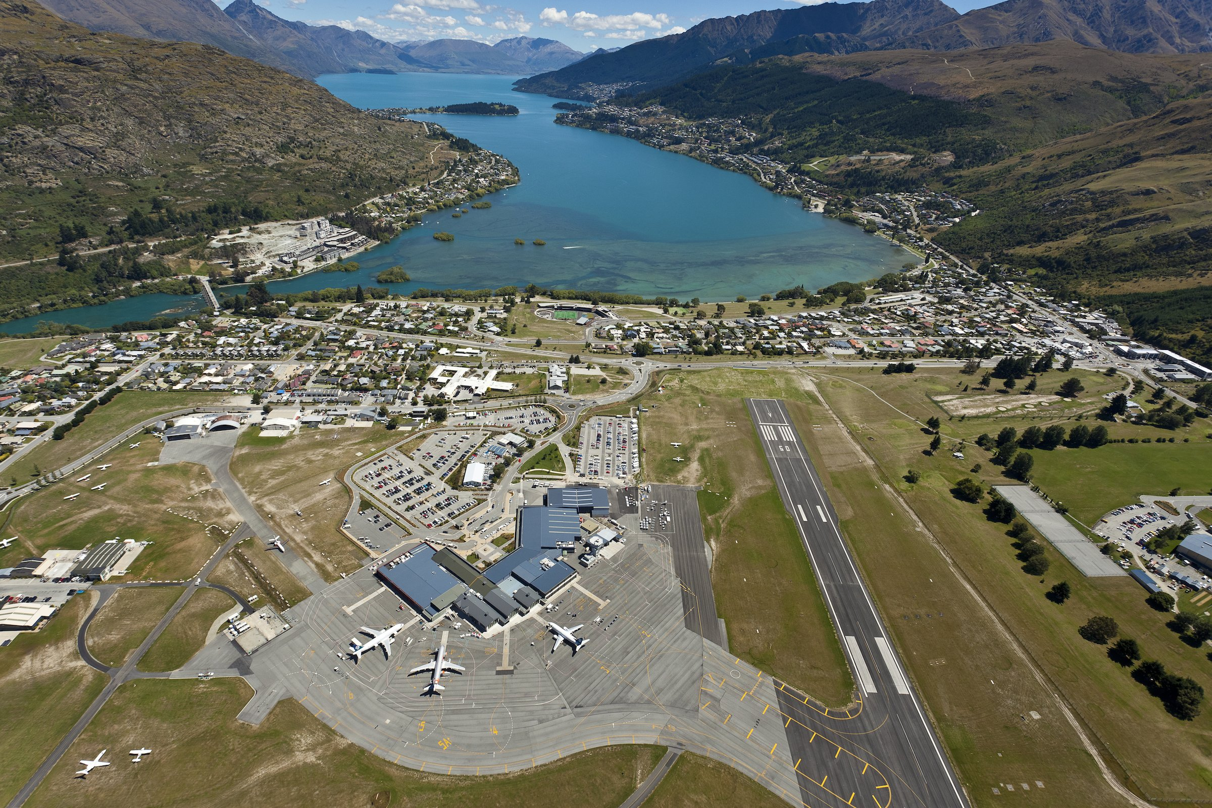 1. Aéroport Queenstown, Nouvelle Zélande