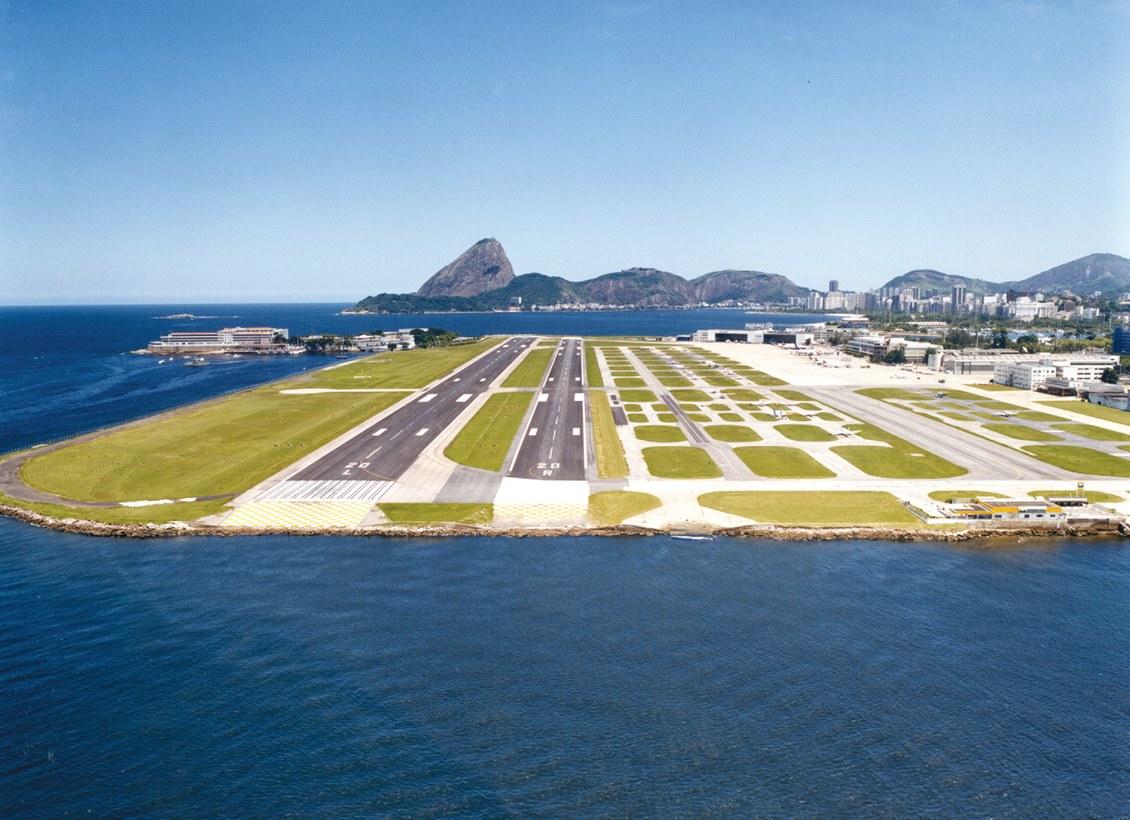 Aéroport Santos Dumont, Rio de Janeiro, Brésil