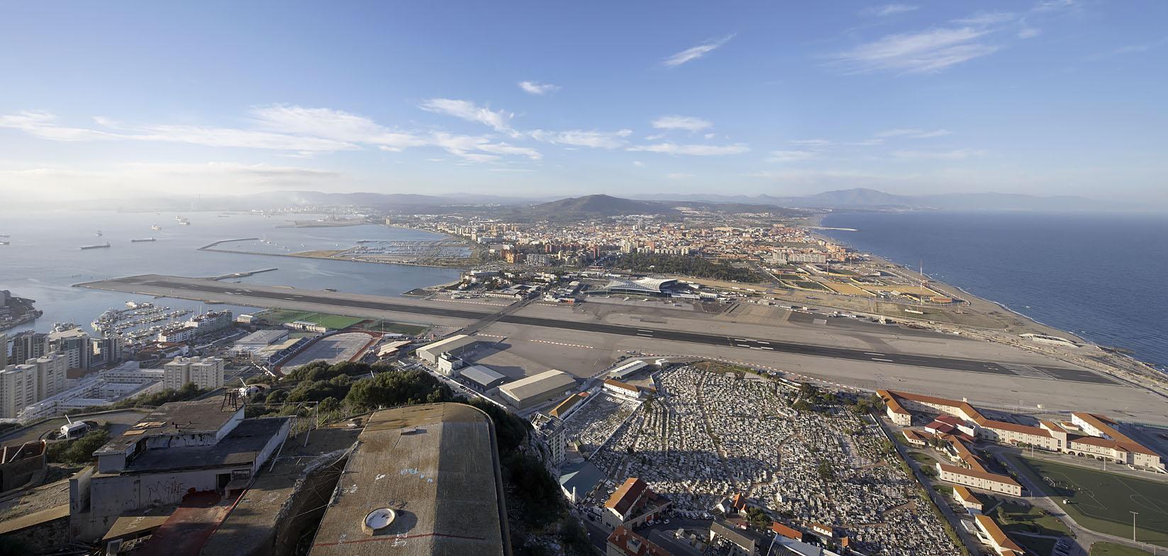8. Aéroport de Gibraltar