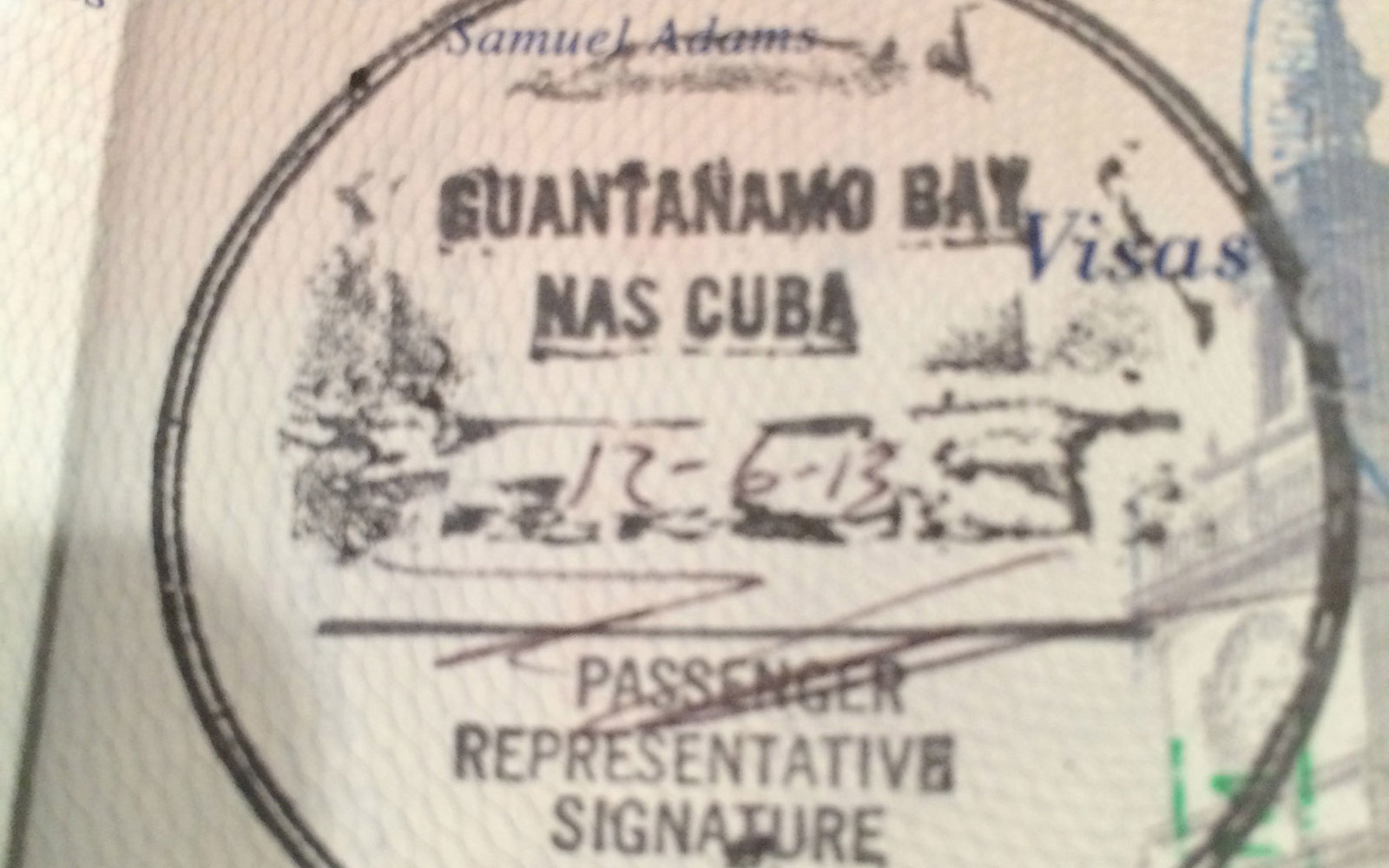 Baie de Guantanamo, Cuba