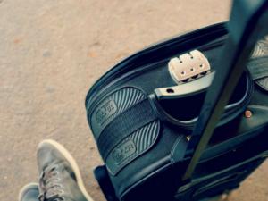 valise sans cadenas avec serrure inamovible