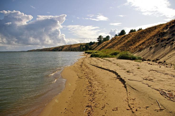 isthme de courlande - Les 10 plus belles plages du monde