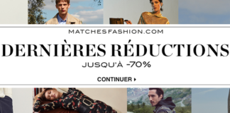 MATCHESFASHION Soldes hiver 2017