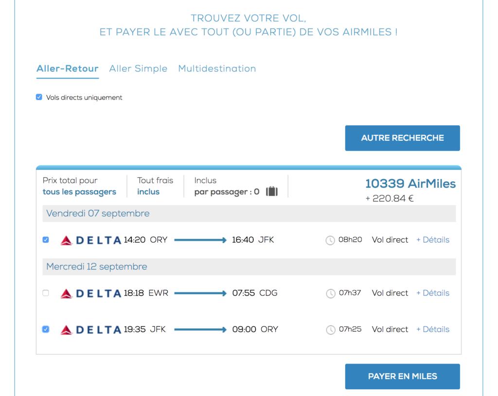 Miles & Cash: des reductions sur vos billets d'avion