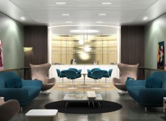Le nouveau salon Business d'Air France à Roissy CDG