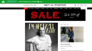 NET-A-PORTER plus d'AirMiles