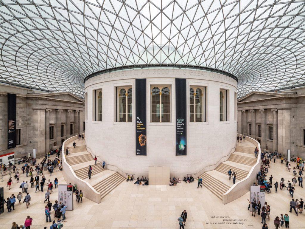 À l'intérieur du British Museum de Londres. - Occuper ses enfants pendant le confinement