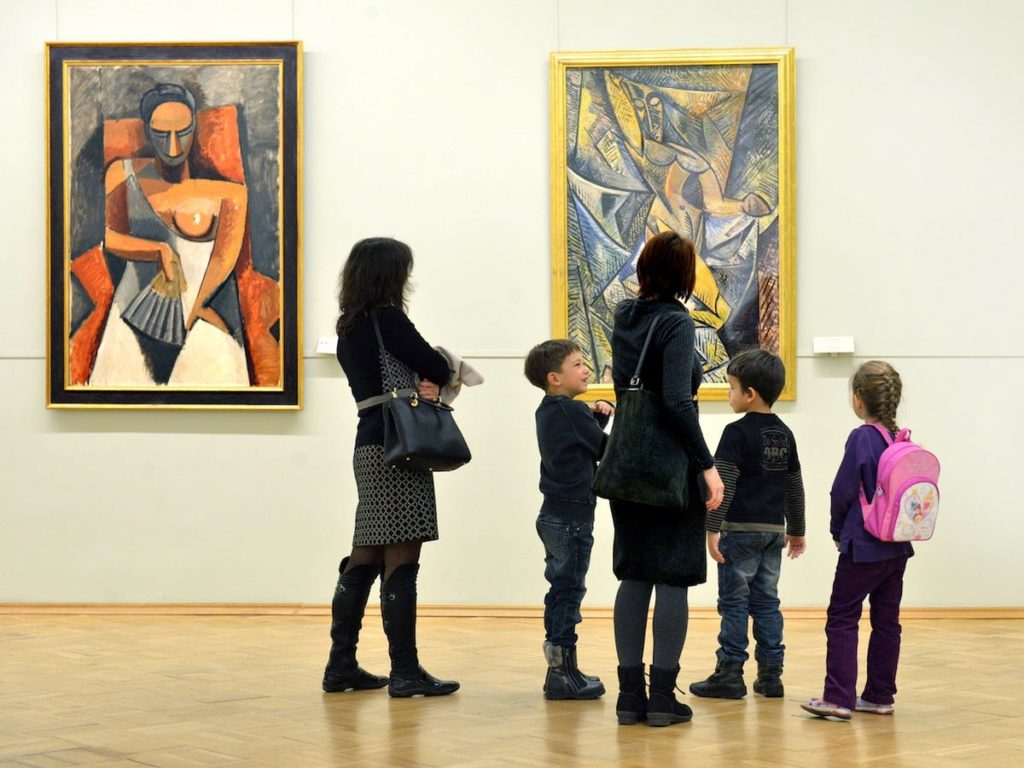 Pablo Picasso a passé beaucoup de ses années de formation en tant qu'artiste à Barcelone. - Occuper ses enfants pendant le confinement