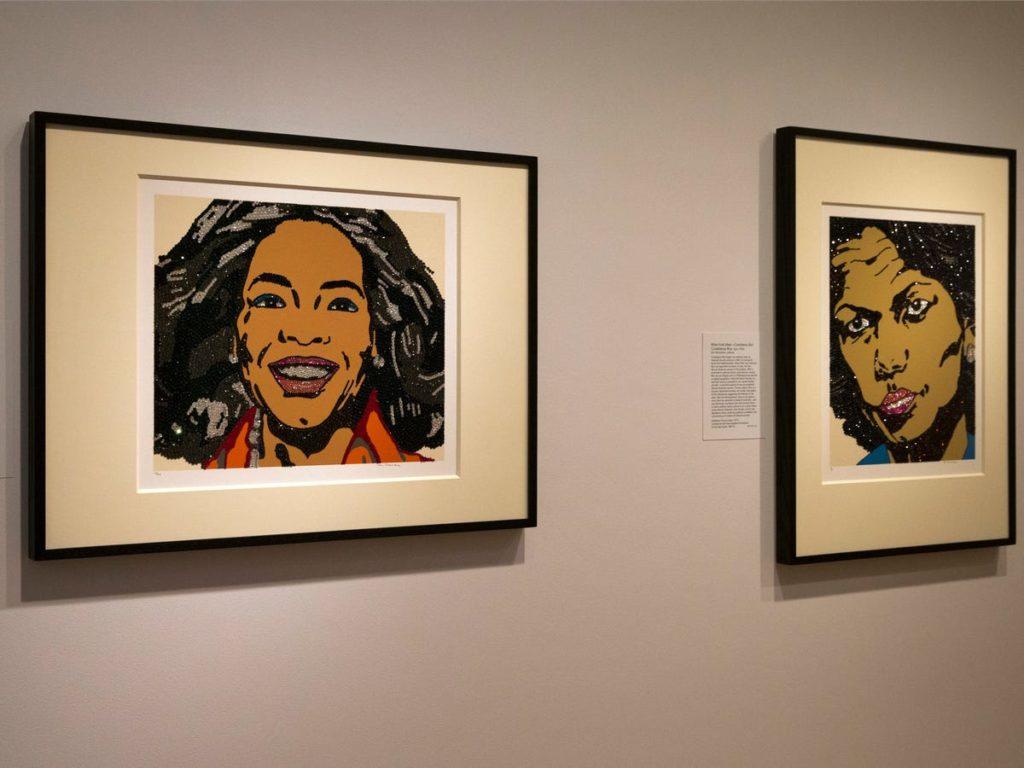 Portraits d'Oprah Winfrey et Condoleezza Rice par Mickalene Thomas. - Occuper ses enfants pendant le confinement